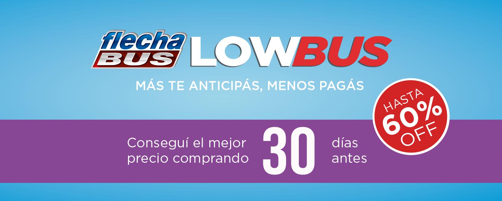 flecha bus low cost low bus